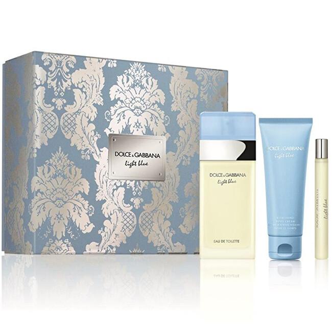 Dolce & Gabbana Light Blue - EDT 100 ml + telové mlieko 75 ml + EDT 10 ml