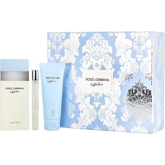 Dolce & Gabbana Light Blue - EDT 100 ml + tělový krém 50 ml + EDT 10 ml
