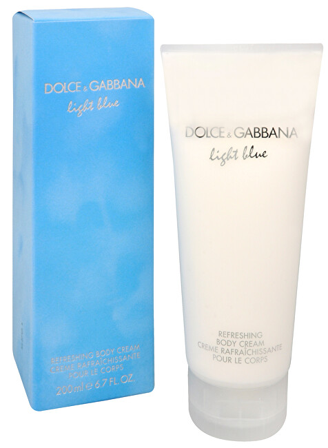 Dolce & Gabbana Light Blue telový krém 200 ml