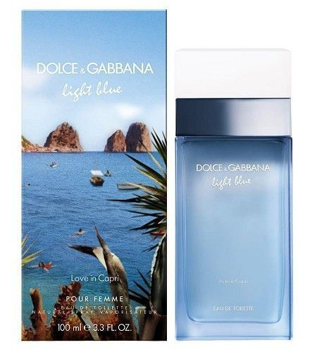 Dolce & Gabbana Light Blue Love In Capri Woman EDT 50 ml