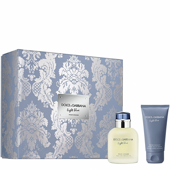 Dolce & Gabbana Light Blue Pour Homme - EDT 75 ml + balzám po holení 50 ml