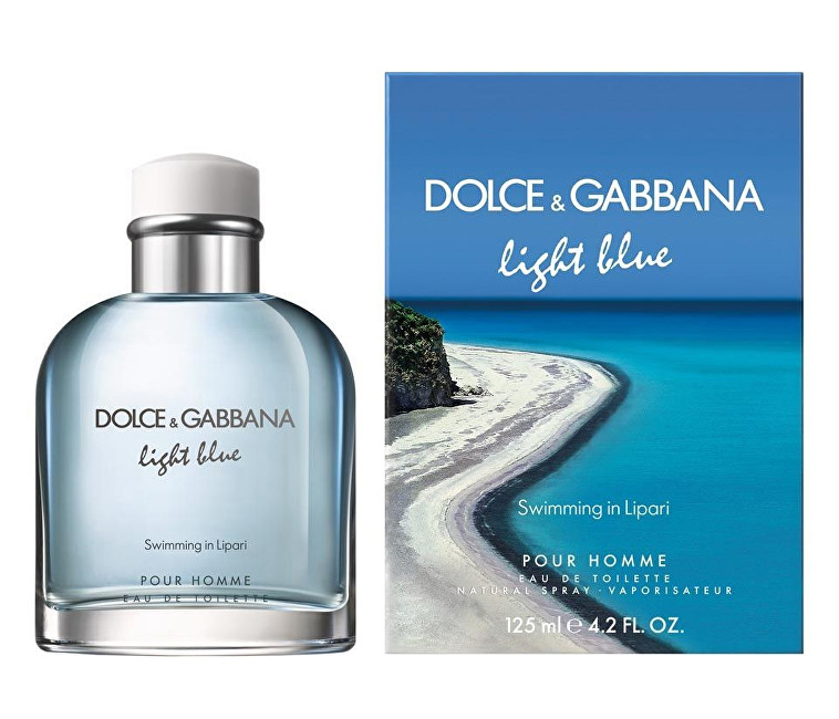 Dolce & Gabbana Light Blue Swimming In Lipari Pour Homme - EDT 40 ml