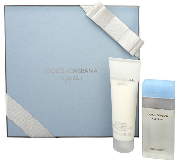 Dolce & Gabbana Light Blue - EDT 25 ml + tělové mléko 50 ml
