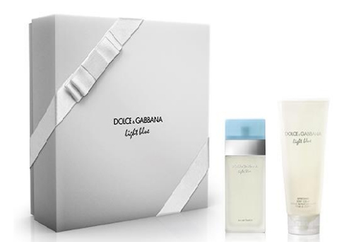 Dolce & Gabbana Light Blue - EDT 50 ml + tělový krém 100 ml