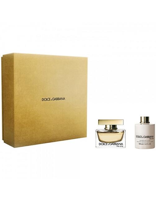 Dolce & Gabbana The One - EDP 75 ml + telové mlieko 100 ml