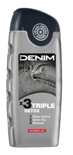 Denim Black Men sprchový gél 250 ml