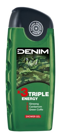 Denim Wild - sprchový gel 250 ml