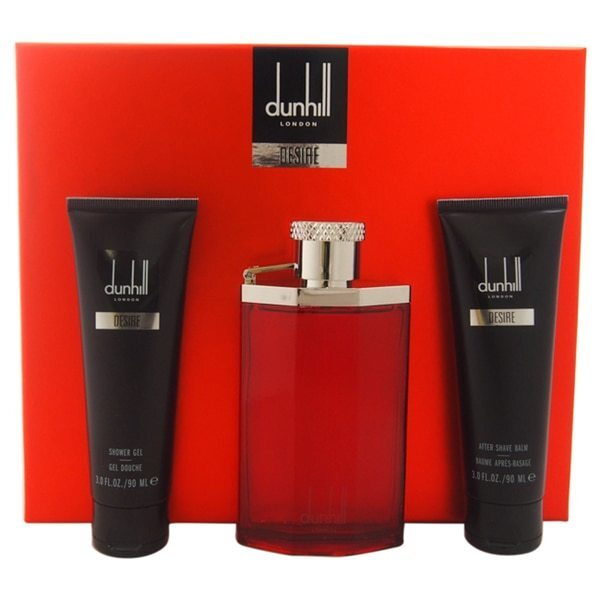 Dunhill Desire For A Man - EDT 100 ml + sprchový gél 90 ml + balzam po holení 90 ml + taštička