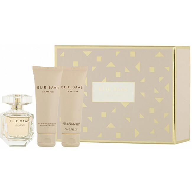 Elie Saab Le Parfum - EDP 50 ml EDP + tělové mléko 75 ml + sprchový gel 75 ml