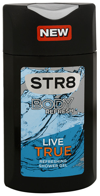 STR8 Live True - sprchový gel 400 ml