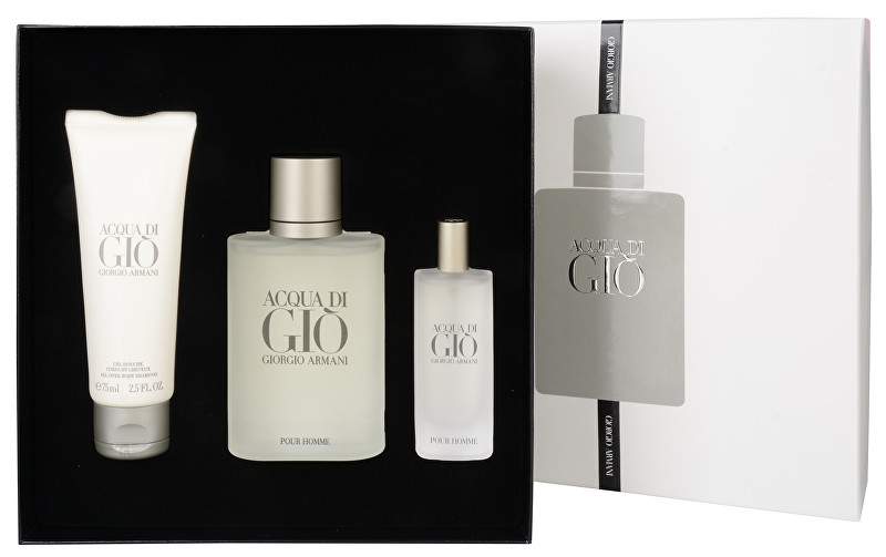 Armani Acqua Di Gio - EDT 100 ml + EDT 15 ml + sprchový gel 75 ml