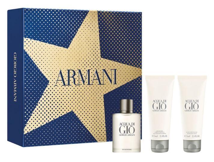 Armani Acqua Di Gio Pour Homme- EDT 100 ml + EDT 15 ml + sprchový gél 75 ml