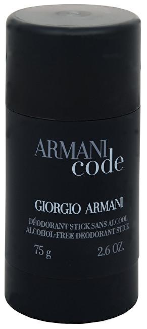 Giorgio Armani Code Men deostick 75 ml