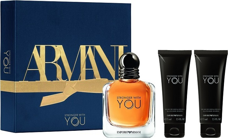 Armani Emporio Armani Stronger With You - EDT 100 ml + 2 x sprchový gel 75 ml