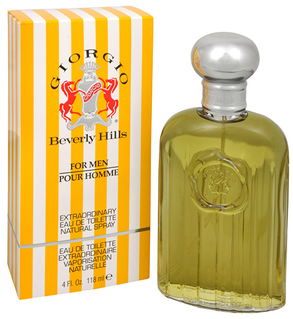 Giorgio Beverly Hills Giorgio For Men - EDT 118 ml