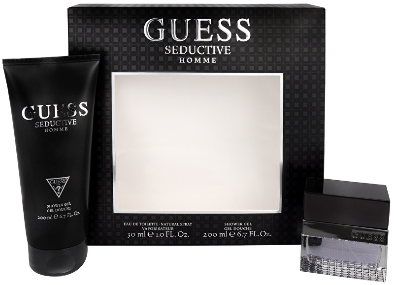 Guess Seductive Homme - EDT 30 ml + sprchový gel 200 ml