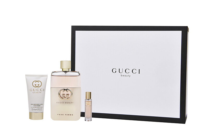 Gucci Guilty - EDP 90 ml + EDP 15 ml + telové mlieko 50 ml