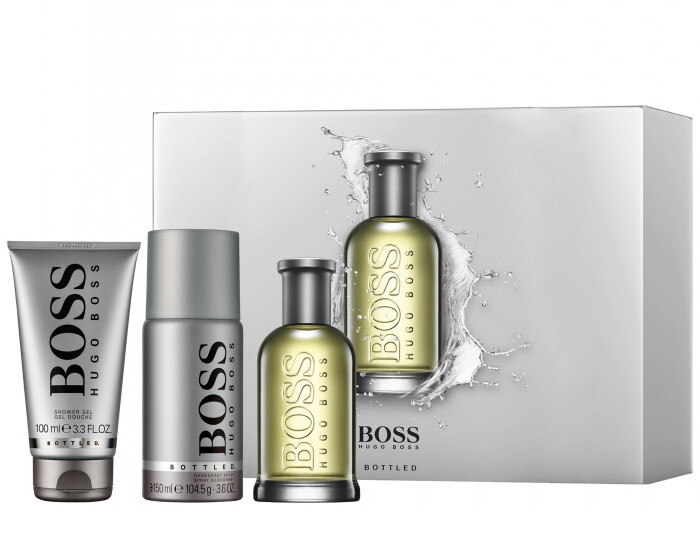 Hugo Boss Boss No. 6 Bottled - EDT 100 ml + sprchový gel 100 ml + dezodorant v spreji 150 ml