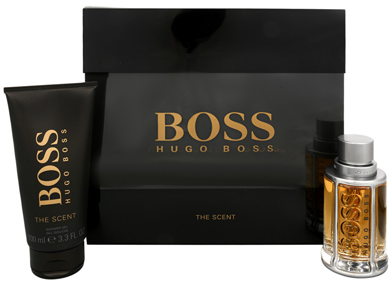 Hugo Boss Boss The Scent - EDT 50 ml + sprchový gél 100 ml