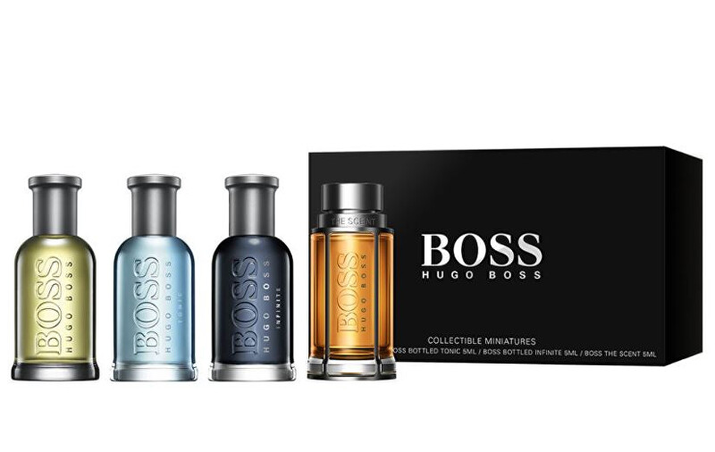 Hugo Boss Hugo Boss mini sada - 4 x 5 ml