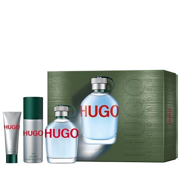Hugo Boss Hugo - EDT 125 ml + deodorant v spreji 150 ml + sprchový gél 50 ml