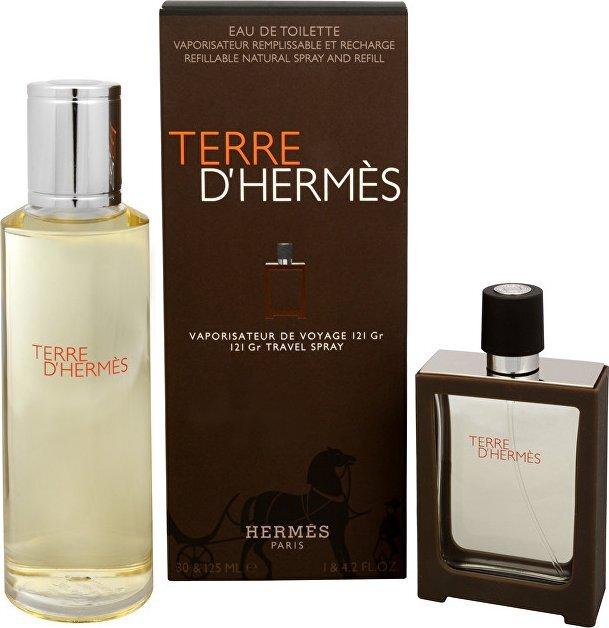 Hermes Terre D`Hermes Eau Intense Vetiver - EDP 30 ml (plnitelný) + náplň 125 ml