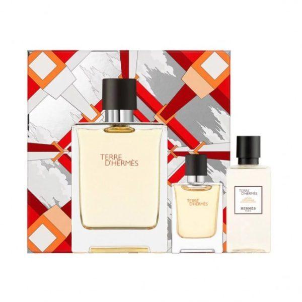 Hermes Terre D` Hermes - EDT 100 ml + sprchový gel 80 ml + EDT 12,5 ml