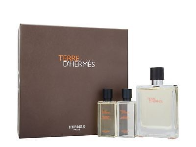 Hermes Terre D` Hermes - EDT 100 ml + voda po holení 40 ml + sprchový gel 40 ml