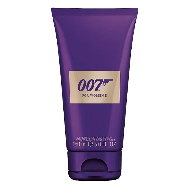 James Bond James Bond 007 For Women III - telové mlieko 150 ml