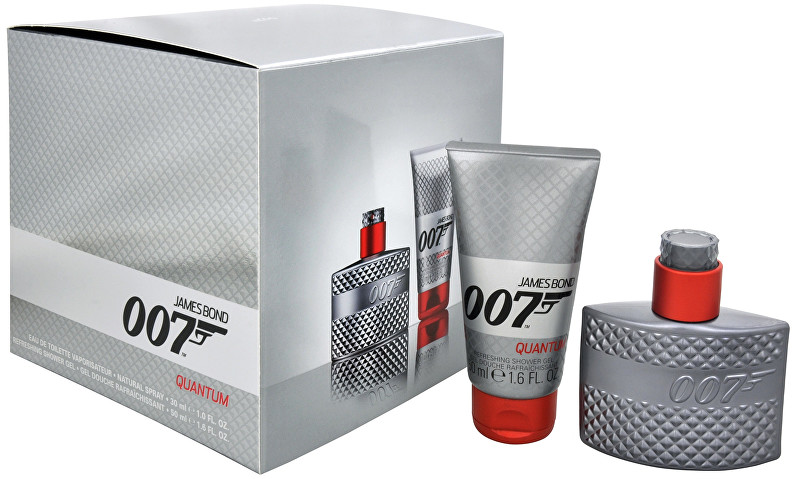 James Bond 007 Quantum Edt 30 ml + sprchový gel 50 ml darčeková sada