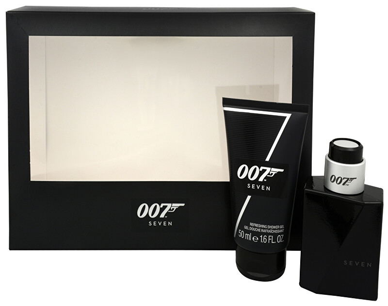 James Bond James Bond 007 Seven - EDT 30 ml + sprchový gel 50 ml