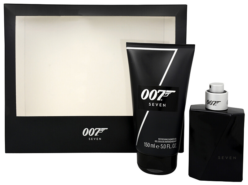 James Bond James Bond 007 Seven - EDT 50 ml + sprchový gel 150 ml