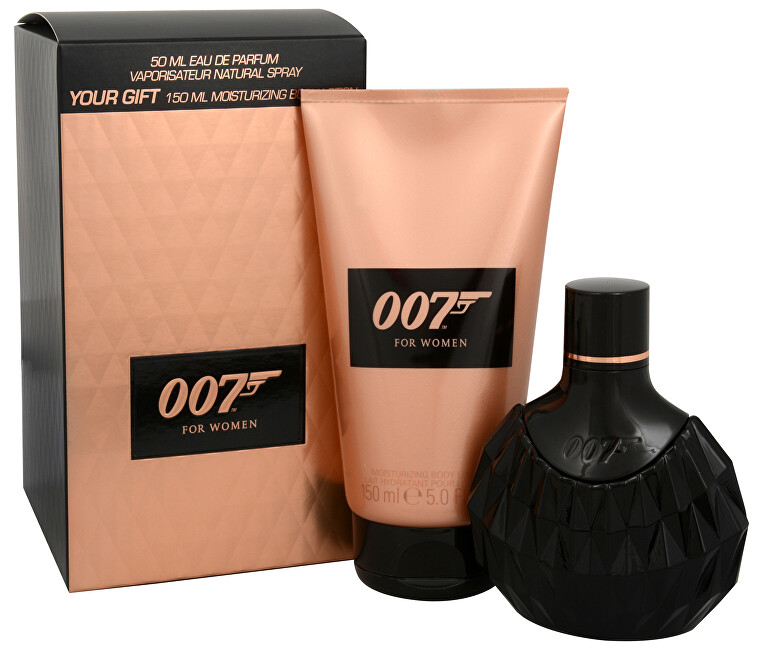 James Bond James Bond 007 Woman - EDP 50 ml + tělové mléko 150 ml