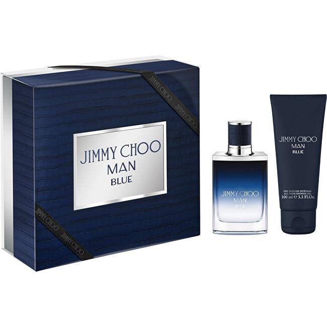 Jimmy Choo Man Blue - EDT 50 ml + sprchový gel 100 ml