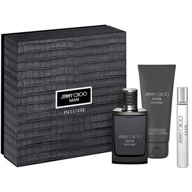 Jimmy Choo Man Intense - EDT 100 ml + balzám po holení 100 ml + EDT 7,5 ml