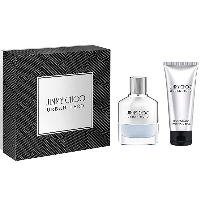 Jimmy Choo Urban Hero - EDP 50 ml + sprchový gel 100 ml
