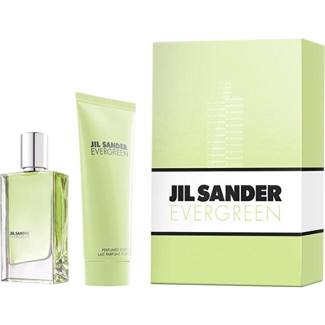 Jil Sander Evergreen - EDT 30 ml + tělové mléko 75 ml