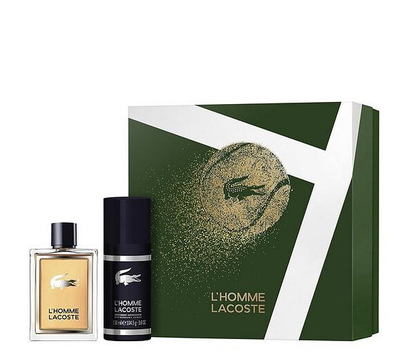 Lacoste L`Homme Lacoste - EDT 50 ml + tuhý deodorant 75 ml