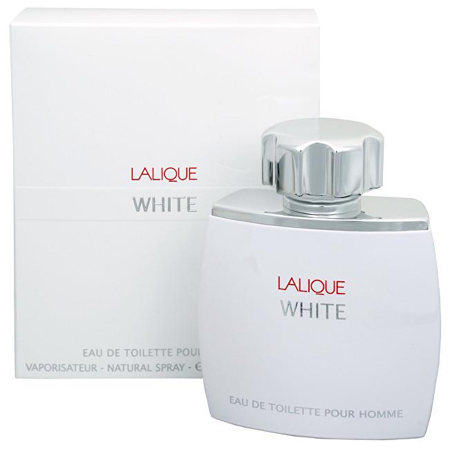 Lalique White - toaletní voda s rozprašovačem 75 ml