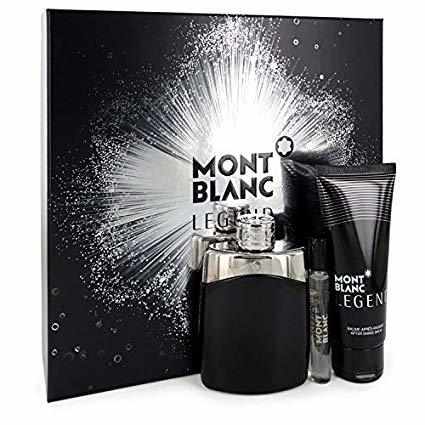 Montblanc Legend - EDT 100 ml + balzám po holení 100 ml + EDT 7,5 ml
