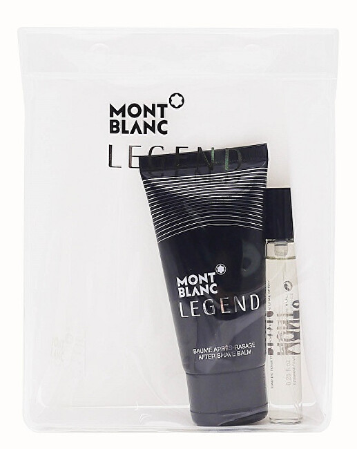 Montblanc Legend - EDT 7,5 ml + balzám po holení 50 ml