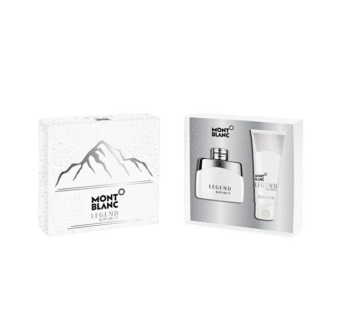 Montblanc Legend Spirit - EDT 50 ml + sprchový gel 100 ml