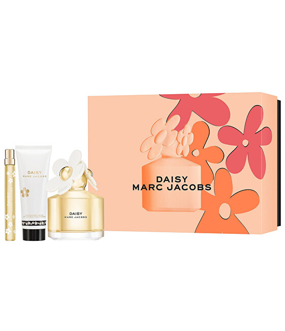 Marc Jacobs Daisy - EDT 100 ml + telové mlieko 75 ml + EDT 10 ml