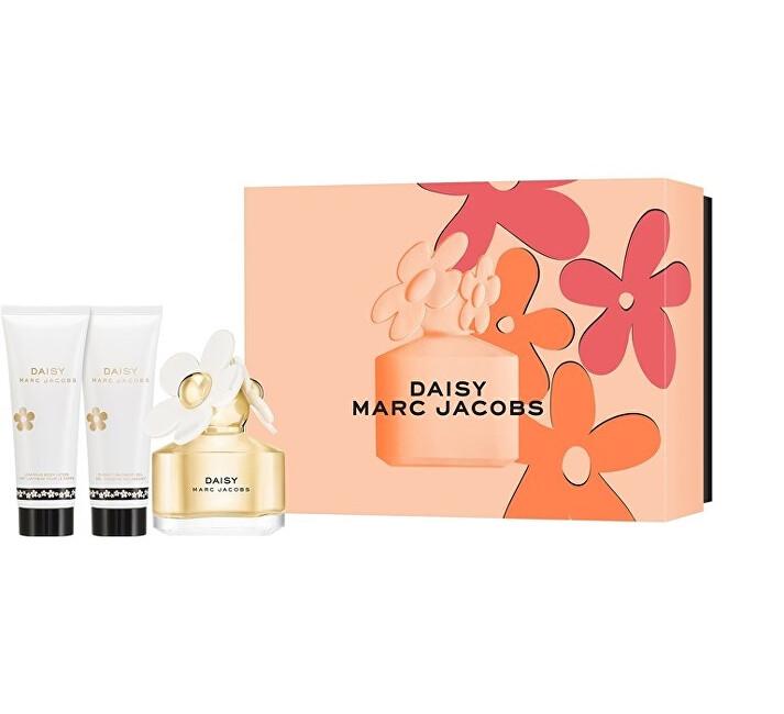 Marc Jacobs Daisy - EDT 50 ml + telové mlieko 75 ml + sprchový gél 75 ml