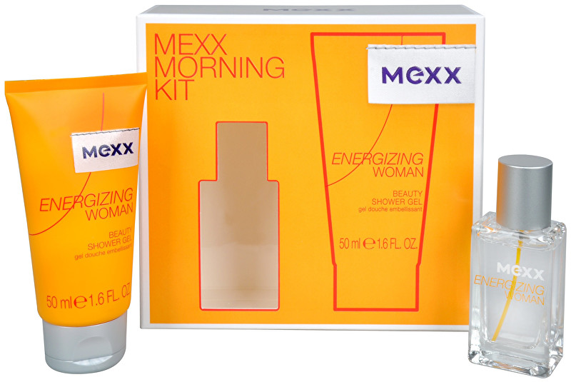 Mexx Energizing Woman - EDT 15 ml + sprchový gel 50 ml