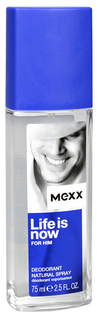 Mexx Life Is Now For Him - dezodorant v spreji 75 ml