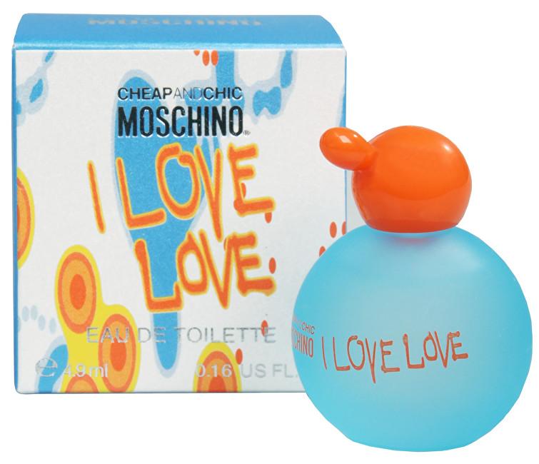 Moschino I Love Love toaletná voda dámska 4,9 ml miniatúra