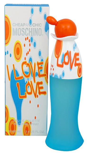 Moschino I Love Love toaletná voda dámska 100 ml