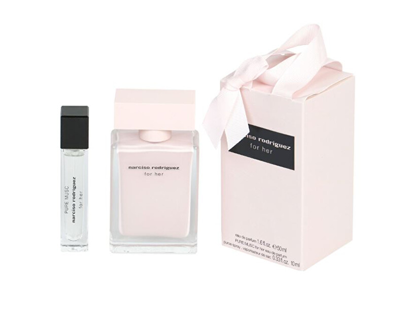 Narciso Rodriguez For Her - EDP 50 ml + Pure Musc - EDP 10 ml