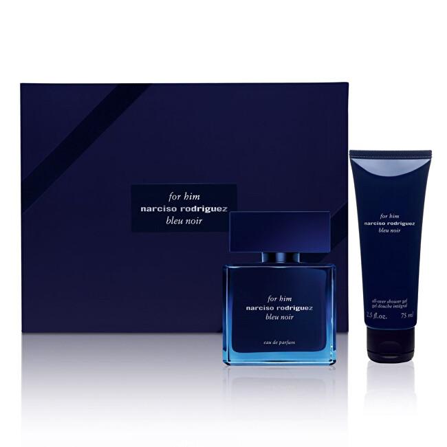 Narciso Rodriguez For Him Bleu Noir - EDP 50 ml + sprchový gel 75 ml